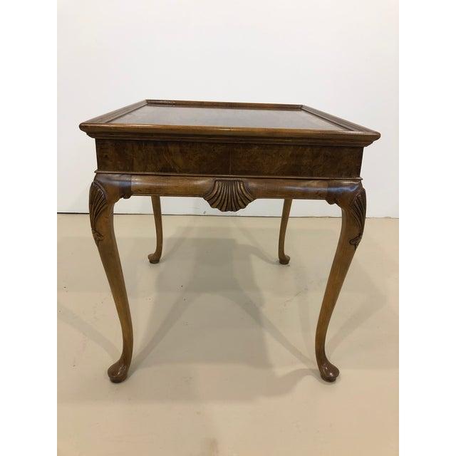 Baker Furniture Company Vintage Baker Furniture Mahogany Side Table For Sale - Image 4 of 10