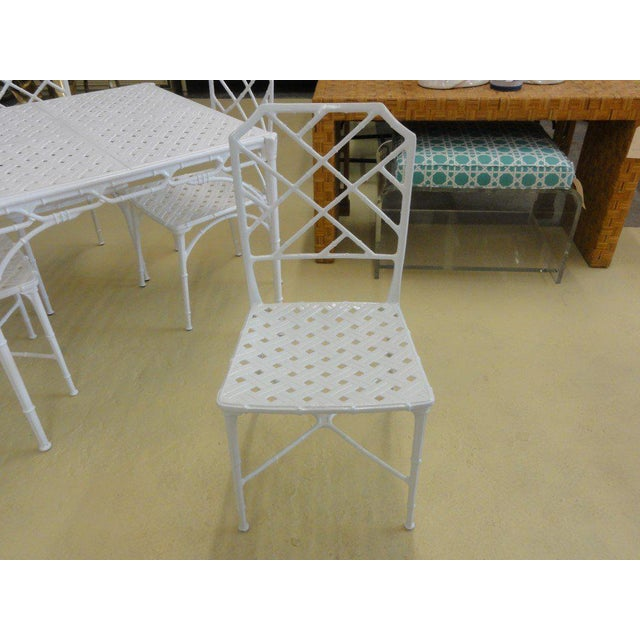 Brown Jordan Calcutta Game Table & Chairs - Image 4 of 7