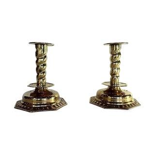 Gustavian-Style Candlesticks - A Pair