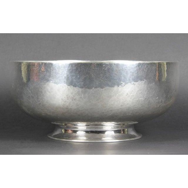 Arts and Crafts Sterling Bowl by Clemens Friedell, Pasadena For Sale - Image 4 of 6