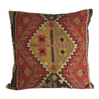 Kim Salmela Aztec Print Pillow For Sale