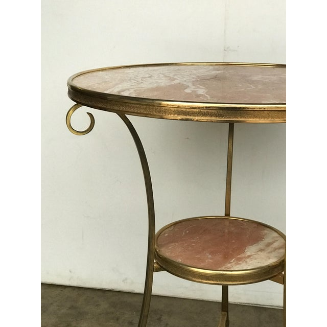 Early 20th Century 20th Century French Marble and Ormolu Neoclassical Gueridon For Sale - Image 5 of 7