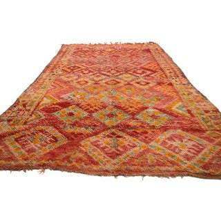 20th Century Moroccan Berber Rug with Diamond Pattern - 5'9 X 9'7 Preview