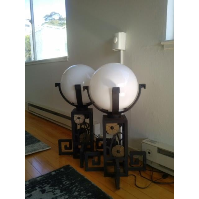 Antique Table Lamps From Disneyland - A Pair - Image 2 of 4