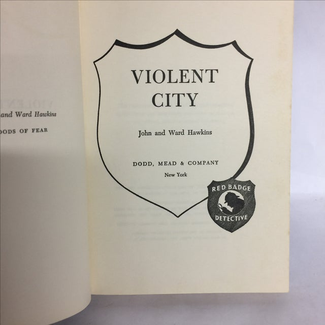 Violent City by John and Ward Hawkins 1957 For Sale - Image 4 of 6