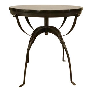 Industrial Modern Cyan Design San Francisco Metal End Table For Sale