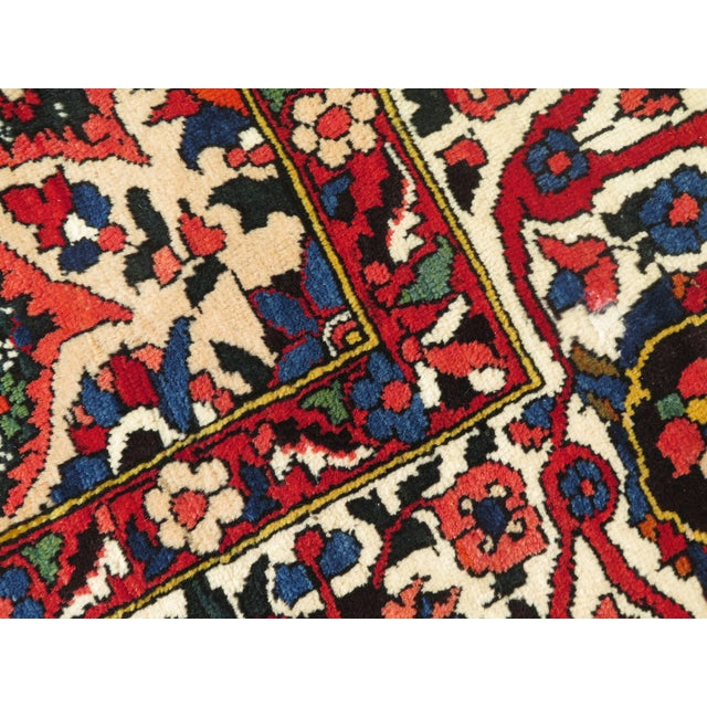 1980s Vintage Hamadan Style Rug- 8′7″ × 12′2″ For Sale - Image 5 of 11
