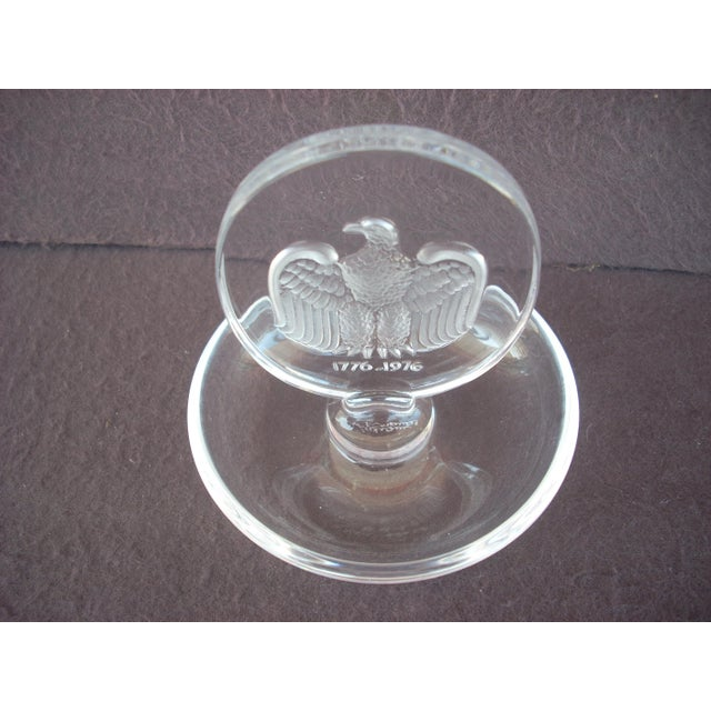 Traditional Lalique Crystal Ring Holder For Sale - Image 3 of 4