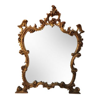 19th Century Italian Rococo Style Mirror For Sale