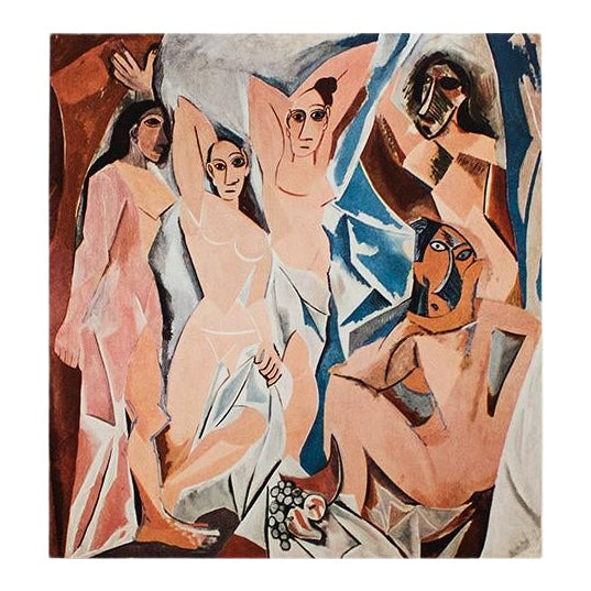 1960s Pablo Picasso The Young Ladies Of Avignon Period Photogravure Chairish