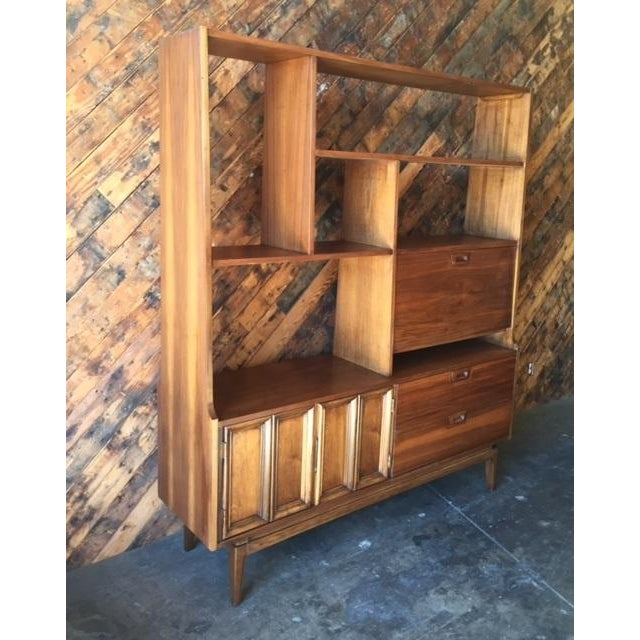 Mid Century Wall Unit Room Divider - Image 4 of 7