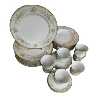"Mikasa ""Greenbriar"" Dinner Service for 8 - 50 Pieces, Reduced Final For Sale"