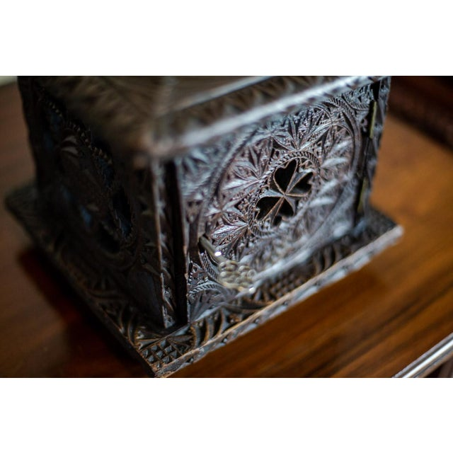 Brown Late 18th Century Wooden Foot Warmer For Sale - Image 8 of 11
