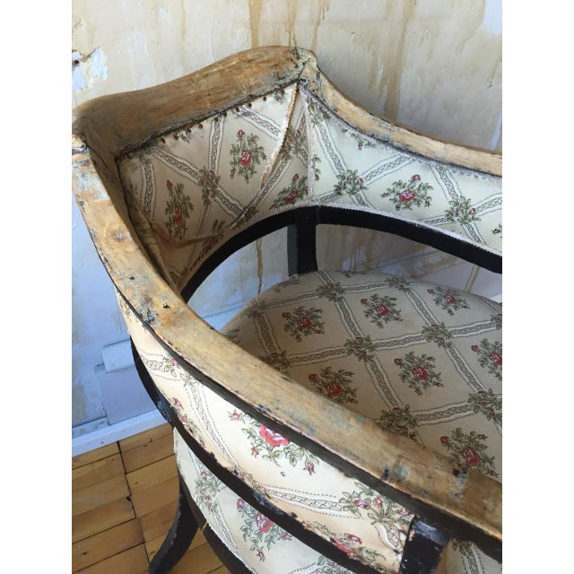 Italian Antique Arm Chair For Sale - Image 10 of 10
