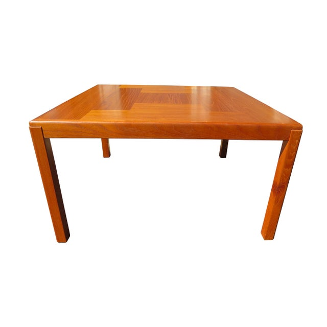 Danish Modern 1960s Danish Mid-Century Modern Henning Kjaernulf Vejle Stole Møbelfabrik Side Table For Sale - Image 3 of 11