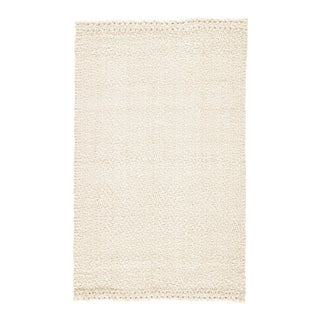 Jaipur Living Tracie Natural Solid White Area Rug - 9' X 12' For Sale