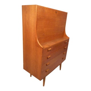 Danish Modern Secretary Desk by Børge Mogensen for Soborg For Sale