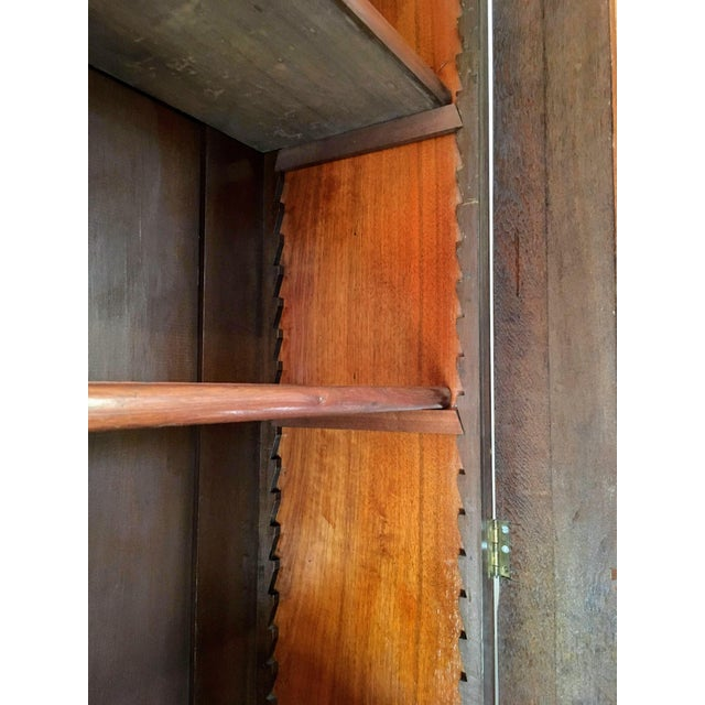 19th Century Victorian Two Door Bookcase Display Cabinet For Sale - Image 4 of 7