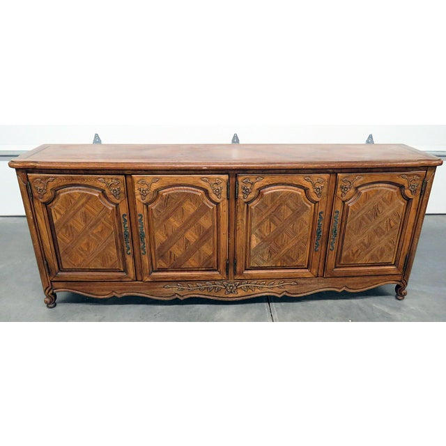 Thomasville Country French Style Sideboard For Sale - Image 10 of 10