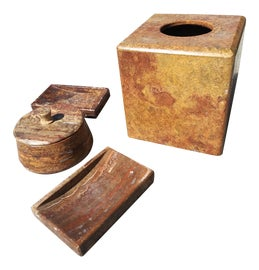 Image of Stone Soap Dishes and Dispensers