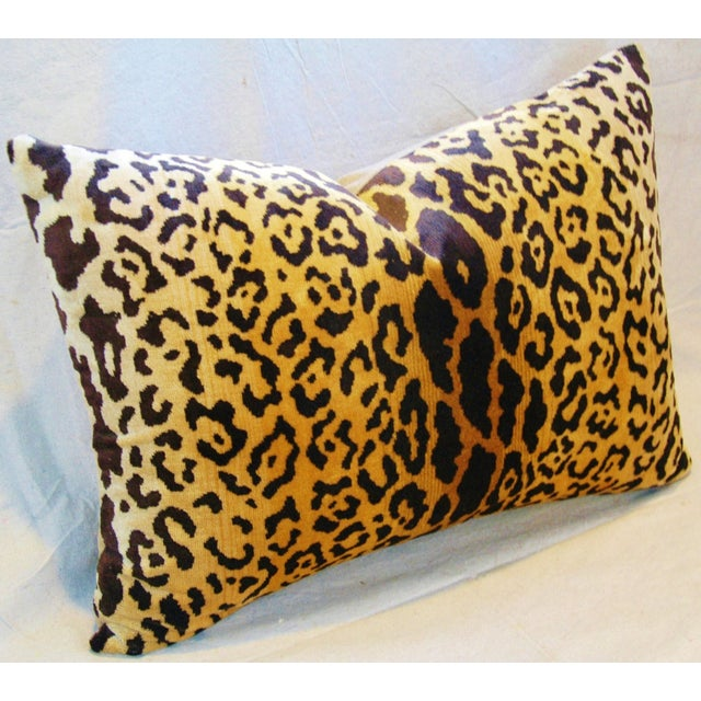 Scalamandre Cut-Velvet Leopardo Pillow - Image 4 of 8
