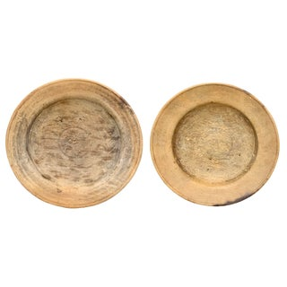 19th Century Italian Wood Bowls - a Pair For Sale