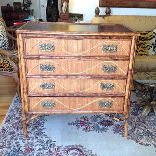 Superior 19th Century Bamboo Dresser Preview