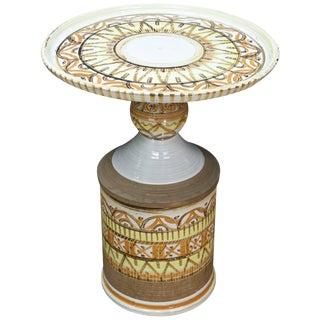 Bitossi Ceramic Petite Cocktail Table For Sale