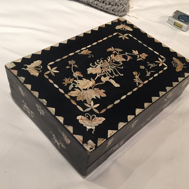 Mother of Pearl Decorative Box - Image 3 of 6