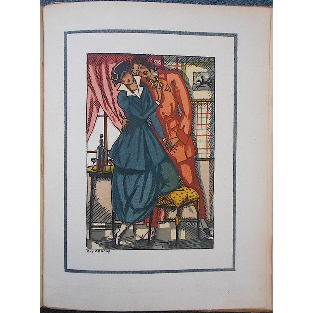 "We just acquired this set of pochoir images ""Les Femmes De Ce Temps"" (The Women Of This Time) by the French listed artist..."
