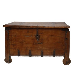 Anglo Indian Dowry Chest