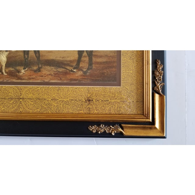 English Traditional Decorative Fox Hunting Framed Prints - a Pair ...