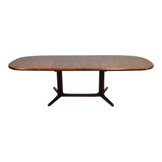 Valentinsen Rosewood Danish Dining Table For Sale