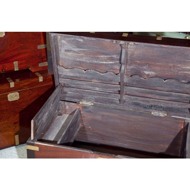 Antique Campaign Box - Image 3 of 8