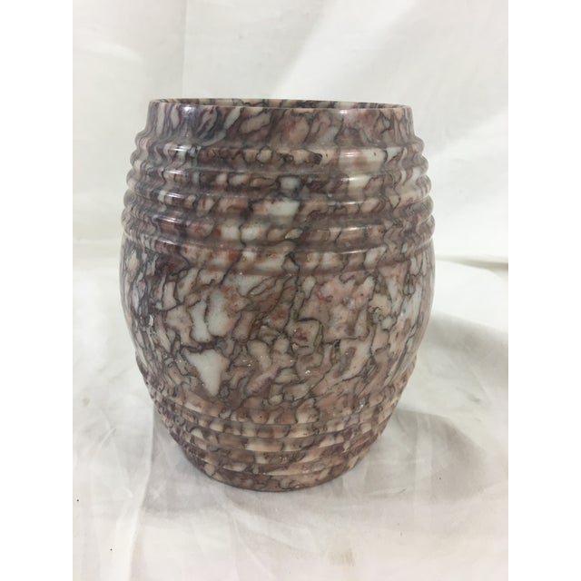 Art Deco 19th Century French Marble Tobacco Pot For Sale - Image 3 of 6