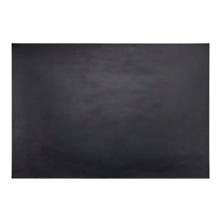 "Leather Desk Blotter in 18"" x 26"" in Black & Green For Sale"