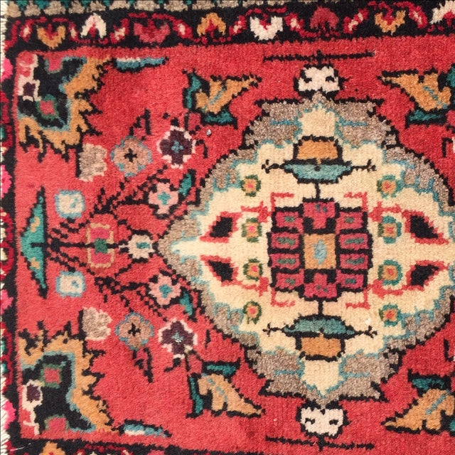 Hamadan Persian Rug - 1′6″ × 2′ - Image 6 of 8
