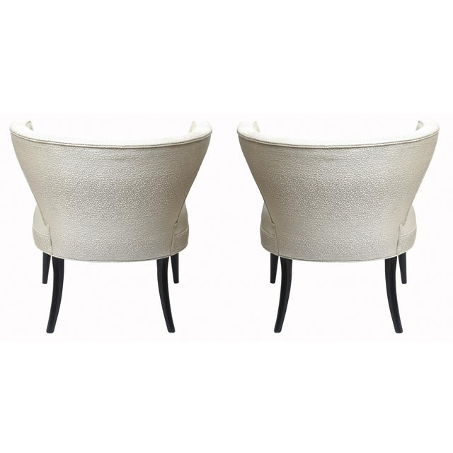 Mid-Century Modern Mid-Century Modern Tommi Parzinger Side Chairs - a Pair For Sale - Image 3 of 10