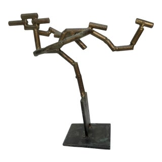 """""""Soaring"""" Abstract Metal Sculpture by Andrew Chambers For Sale"""