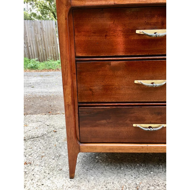 Basic-Witz Mid Century Modern Credenza Dresser For Sale - Image 9 of 10