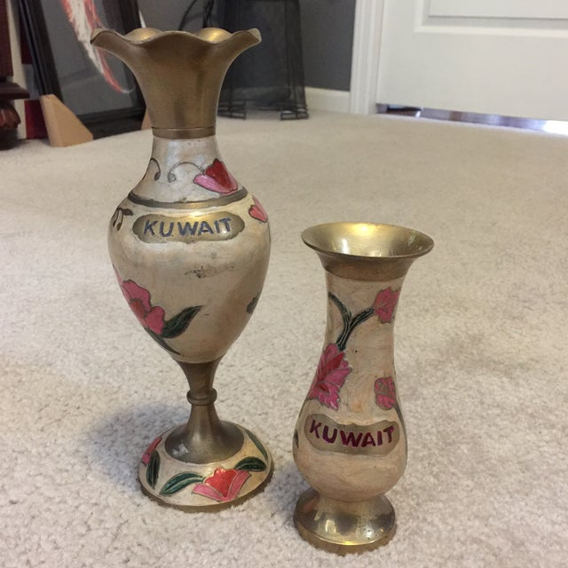 Kuwait Vases - Pair - Image 2 of 7