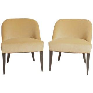 Jean Pascaud Modern Chairs - a Pair