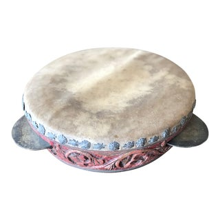 Tibetan Ceremony Drum/Tambourine For Sale