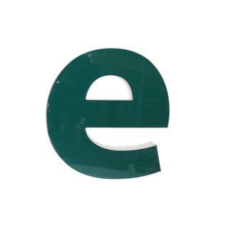 "Lower Case ""E"" Channel Letter For Sale"