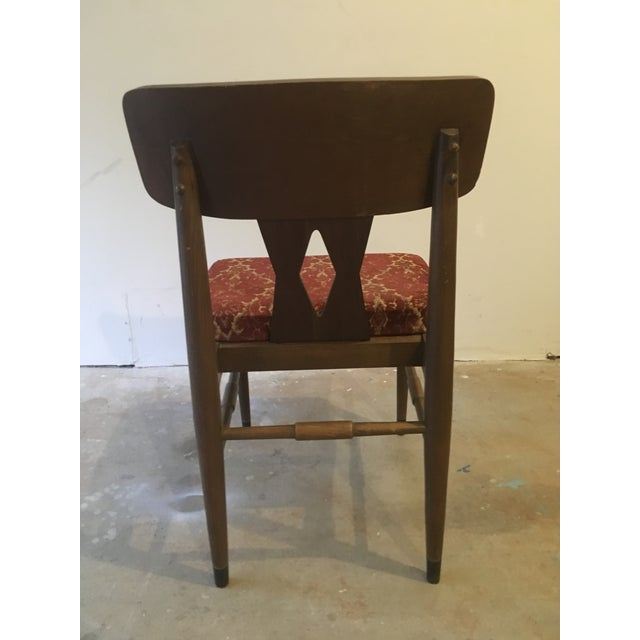 Vintage Modern Danish Style Dining Chairs - Set of 6 - Image 4 of 10