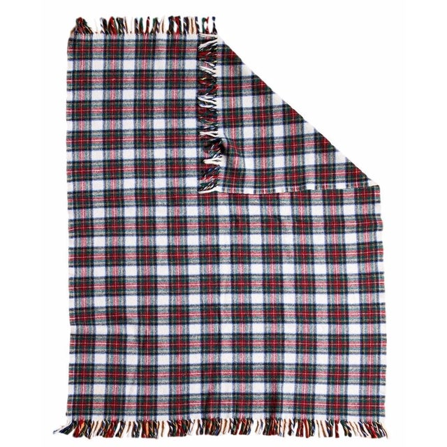 Vintage Plaid Blanket - Image 1 of 6