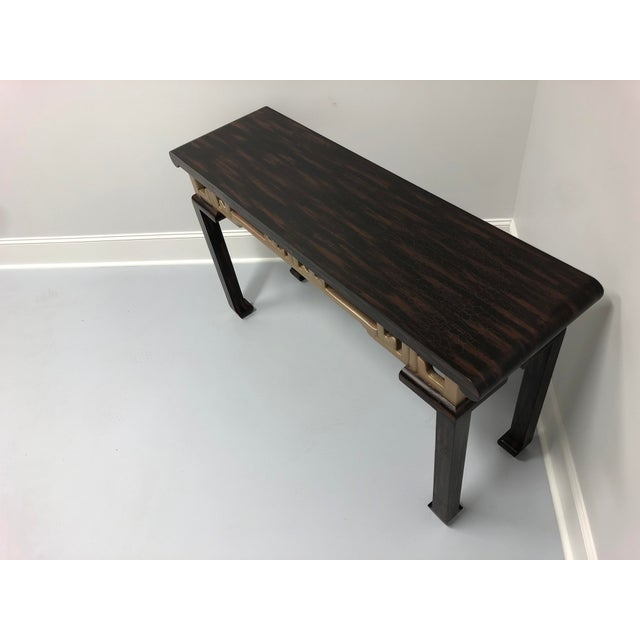 Baker Furniture Company Vintage Baker Asian Inspired Sofa Table Console For Sale - Image 4 of 12