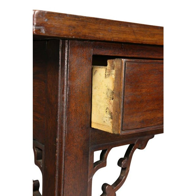 George III Mahogany Side Table For Sale - Image 4 of 9