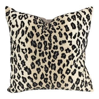 Schumacher Leopard Print Pillow