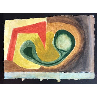Mid-Century Modern Painting by Richard Goodwin For Sale